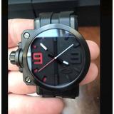 7b2853af7be4b Relogio Oakley Gearbox Preto Novissimo Original Compra Certa