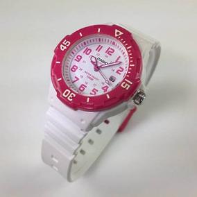 65564a27756a Reloj Blanco Deportivo Mujer - Relojes Casio en Mercado Libre Chile