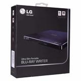 Blu-ray/ Dvd Writer Lg Bp50nb40, 6x, Slim, Externo, Portátil