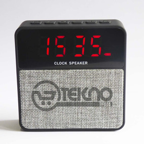 Radio Reloj Despertador / Bluetooth Usb-tf C/alarma