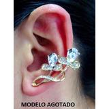 Zarcillo Solitario Ear Cuff Accesorios De Moda