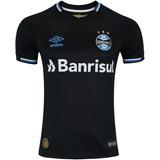 Camisa Gremio Black Camisas Times Brasileiros - Camisa Grêmio ... 8be37b9fa279b