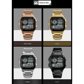 Relógio Masculino Skmei 1335 Similar Ao Cassio - *na Caixa*