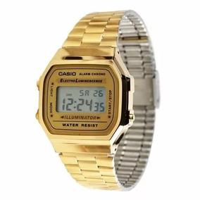 600e9cfaf29 Relogio Casio A168 Unisex Prata Retr Vintage A178 A159 - Relógios De ...