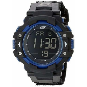 Reloj Skechers Sr1035 Digital Display Quartz Black Hombre