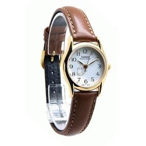 105d35fc19ac Reloj Casio Dama Ltp 2069 Acero Cuero Original Multiaguja - Relojes ...