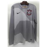 Camisa Corinthians Cinza 2012 no Mercado Livre Brasil b0b8f47f80371