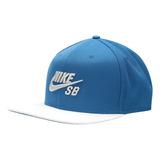 Boné Aba Reta Nike Sb Icon Pro Azul Masculino Original d20488a866f