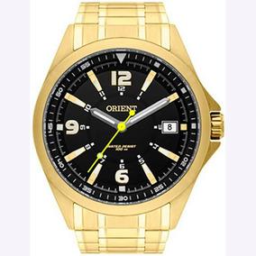 Relógio Orient Masculino Analógico Dourado Mgss1107p2kx