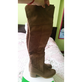 Botas Encima De La Rodilla - Calzado Mujer en Mercado Libre Perú 74726414a096b