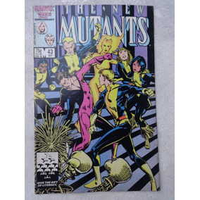 The New Mutants Nº 43: Barry Windsor-smith Cover - 1986