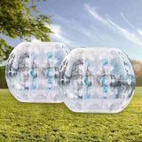 Pack 2 Pelota Burbuja Inflable Bubble Soccer 1,2 Metros Zorb