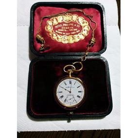 620e5c8a266 Relógio De Bolso Patek Philippe Ouro 18 Kilates 22 Linhas - Relógios ...