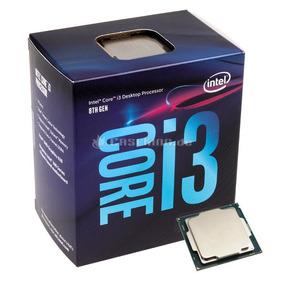 Processador Intel Core I3-8100 8ª Geração, Box Lga 1151 Novo