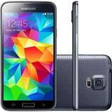 Samsung Galaxy S5 G900 Preto 16gb 4g Wi-fi Câm 16mp