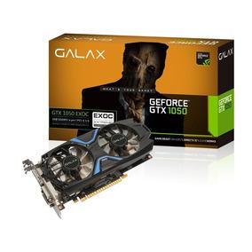 Placa De Vídeo Galax Nvidia Gtx 1050 Exoc 2gb Ddr5 128bits