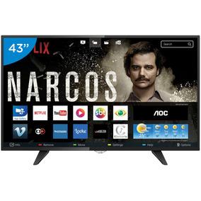 Smart Tv Led 43 Aoc Full Hd Le43s5970 - Conversor Digital W
