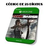 Tomb Raider Definitive Edition Xbox One Código De 25 Dígitos