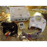 Consola Dreamcast Completa Con Accesorios Y 5 Juegos Gratis