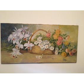 Quadro Floral 1,20 X 0,60m