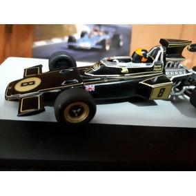Lendas Automobilismo Brasil - Lotus 72d- Emerson Fittipaldi