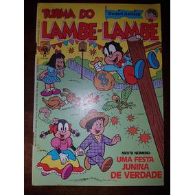 Gibi Turma Do Lambe-lambe Nº 14 Editora Abril 1983