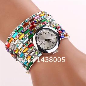 a045009a8d4 Relogio Quartz Feminino Colorido - Relógio Feminino no Mercado Livre ...