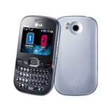 Lg C375 Cookie Tweet Dual Chip Qwerty Wi-fi 2mpx Mp3 + Nf