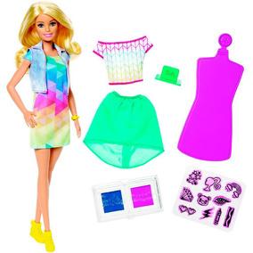 Boneca Barbie Mattel Cria??es Com Carimbos
