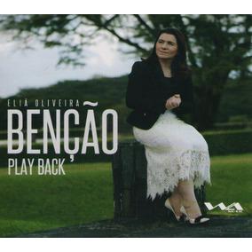 Cd Eliã Oliveira - Benção - Play-back ( Lacrado ) 2018