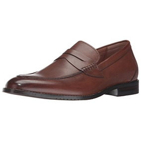 206 Colectiva Hombres Winton Penny Loafer, Cognac, 13 D Us