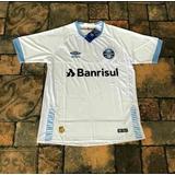 1a3be51124 Camisa Gremio 2018-19 Azul Marinho ( Pronta Entrega )
