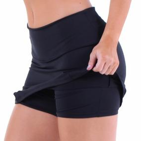 Shorts Saia Plus Size Suplex Power Poliamida Cós Alt Academi