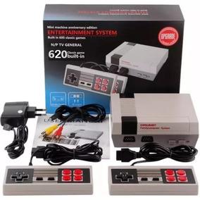 Mini Nes Classic Nintendinho 8 Bits 2 Controles 620 Jogos