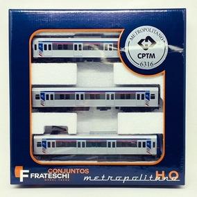 Trem Eletrico Frateschi - Trem Metropolitano Cptm - 6316 - F