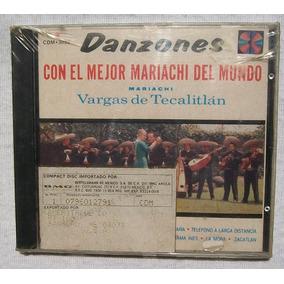 Mariachi Vargas De Tecalitlan. Danzones. Cd Sellado Rca 1990