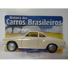 Miniatura Metal Karmann Ghia 1962 Carros Brasileiros 11,5cm