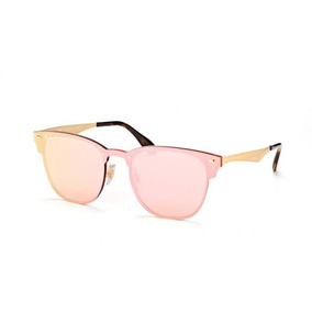 Rayban Blaze Clubmaster Rosa - Óculos no Mercado Livre Brasil 011e469b05