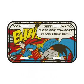 Placa De Parede Metal - Dc Comics - Batman E Super-homem - 1