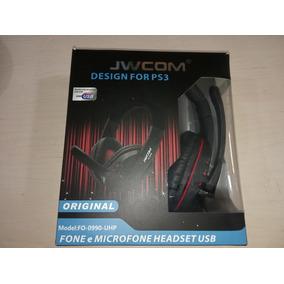 Headset Usb Novo Jwcom