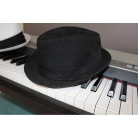 Sombrero Tipo Panama - Ropa y Accesorios Negro en Mercado Libre ... 9eae6f04bdb