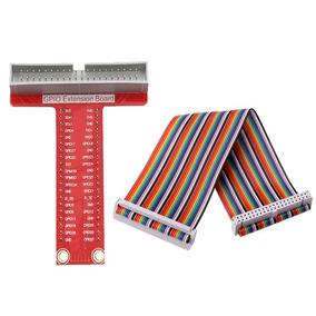 Kit Cable Plano + Adaptador Gpio Board Raspberry Pi 2 Y 3