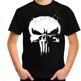 55c39d306 Camiseta Justiceiro Netflix - Camisetas Manga Curta Masculino no ...