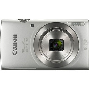 Canon Powershot Elph 180 20mp 8 X Zoom Óptico Hd Video Plata