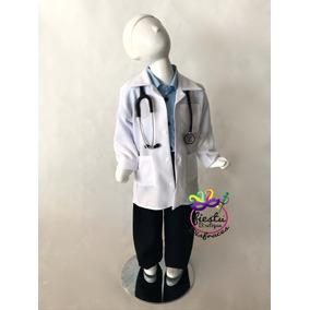 4def737f17e31 Disfraz Bata Doctor Doctora Medico Enfermero Niño Niña Ofici