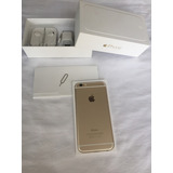 Iphone 6 Gold, Accesorios Originales, Liberado