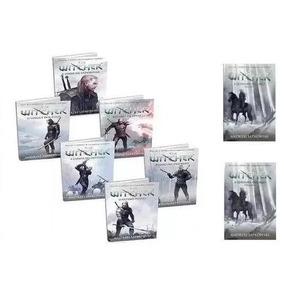 Livros Coleção Completa The Witcher - Capa Game ( 8 Livros )