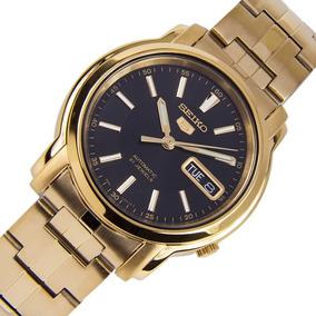 394c134c982 Relogio Seiko 5 Automatico Dourado - Relógio Seiko Masculino no ...