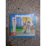 Playmobil Antex 1-9506 Señora Con Niños Zona Retro