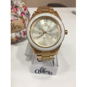 e388a8c48e3 Relogio Feminino Allora Rose - Relógios no Mercado Livre Brasil